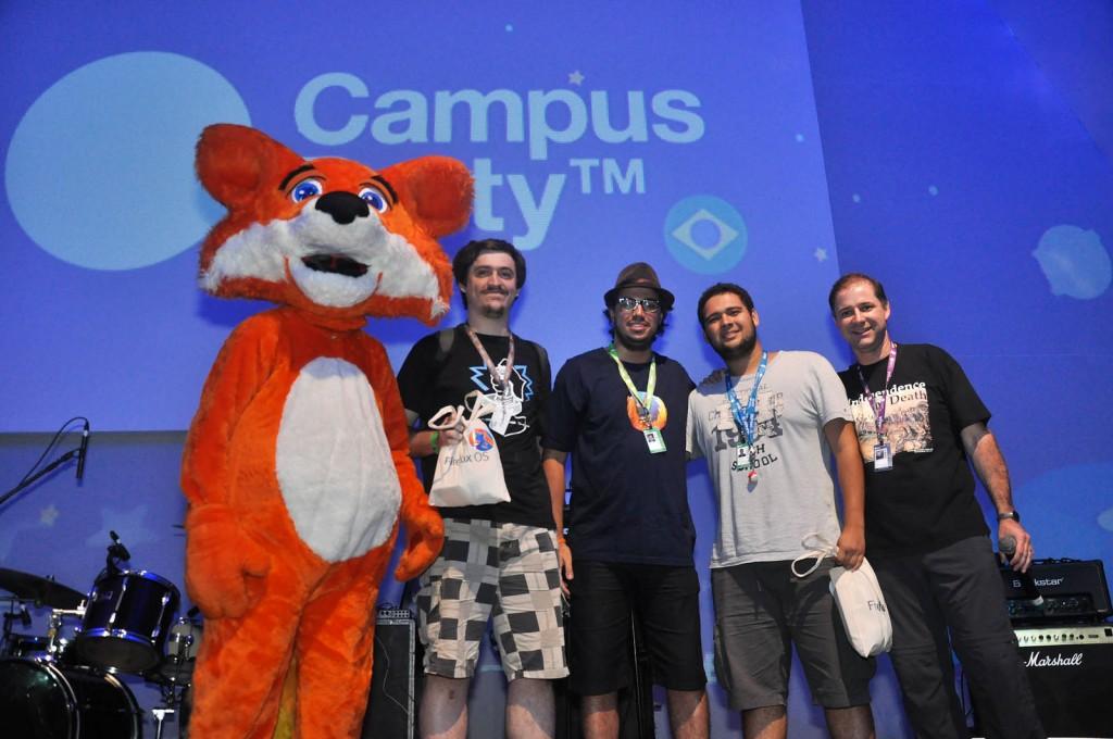 Premiação Hackathon Mozilla