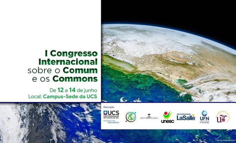 I Congresso Internacional sobre o Comum e os Commons
